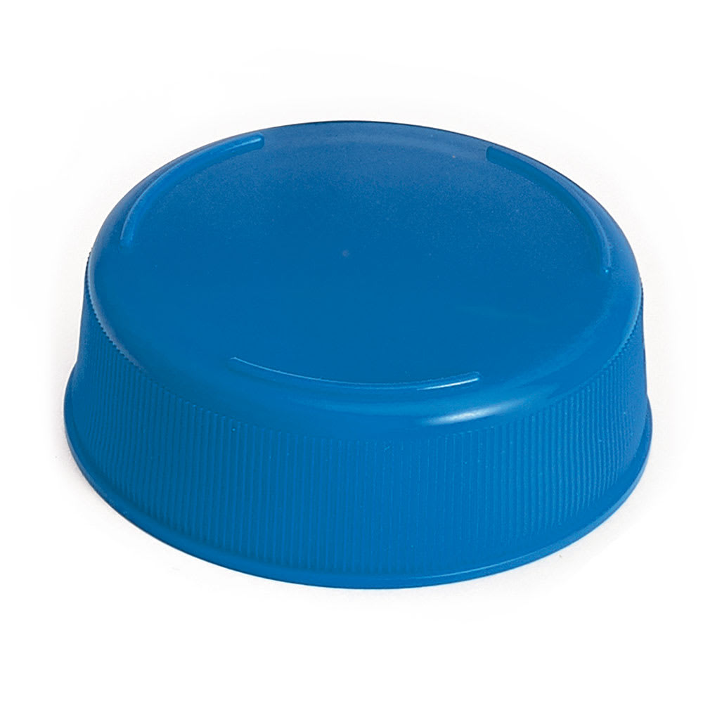 Tablecraft 53FCAPBL Squeeze Bottle End Cap - Blue