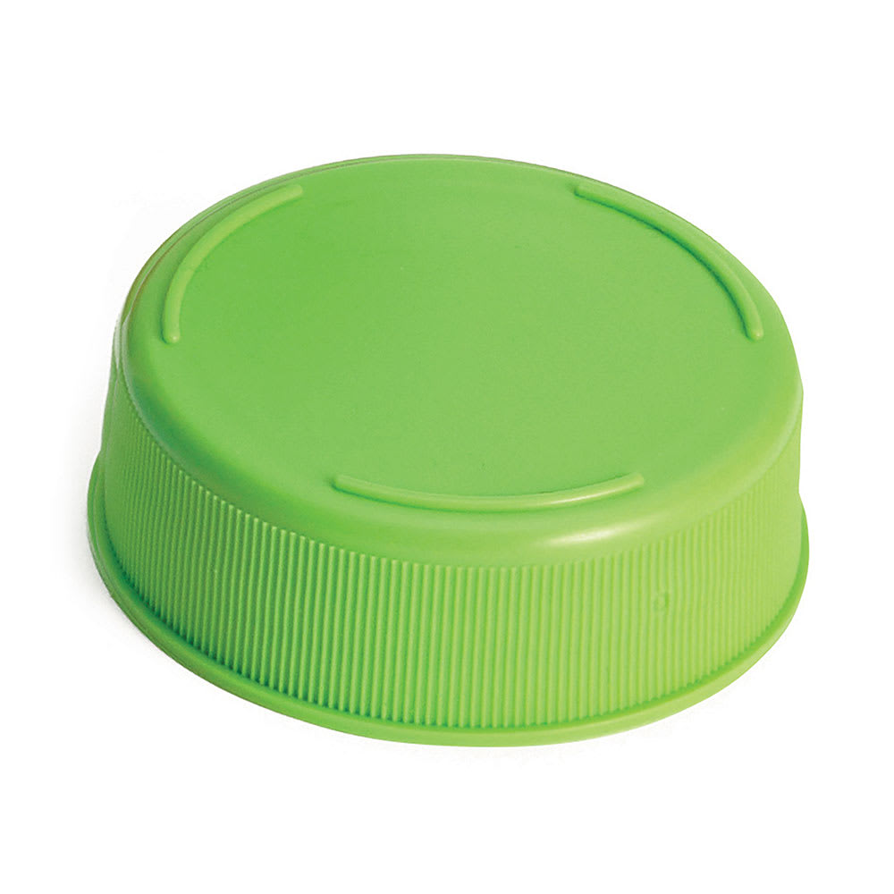 Tablecraft 53FCAPLGN Squeeze Bottle End Cap - Light Green