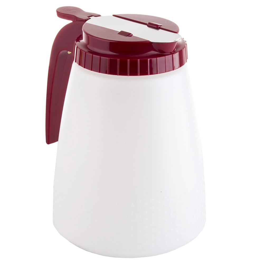 Tablecraft 748R 48 oz All Purpose Dispenser, Red Top