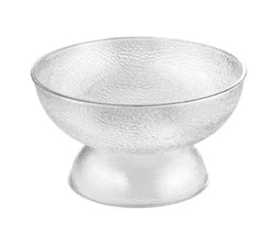 Tablecraft 997PC 12-qt Punch Bowl w/ Pedestal Base, 18 x 10-in
