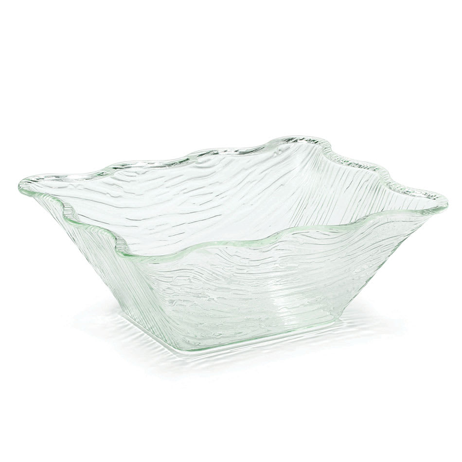 "Tablecraft AB1411 Rectangular Cristal Collection Bowl, 13.5 L x 11 W x 5""H, Acrylic"