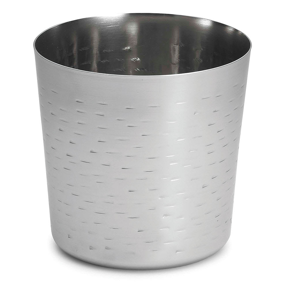Tablecraft AC885R Fry Cup - Rice Pattern, Stainless