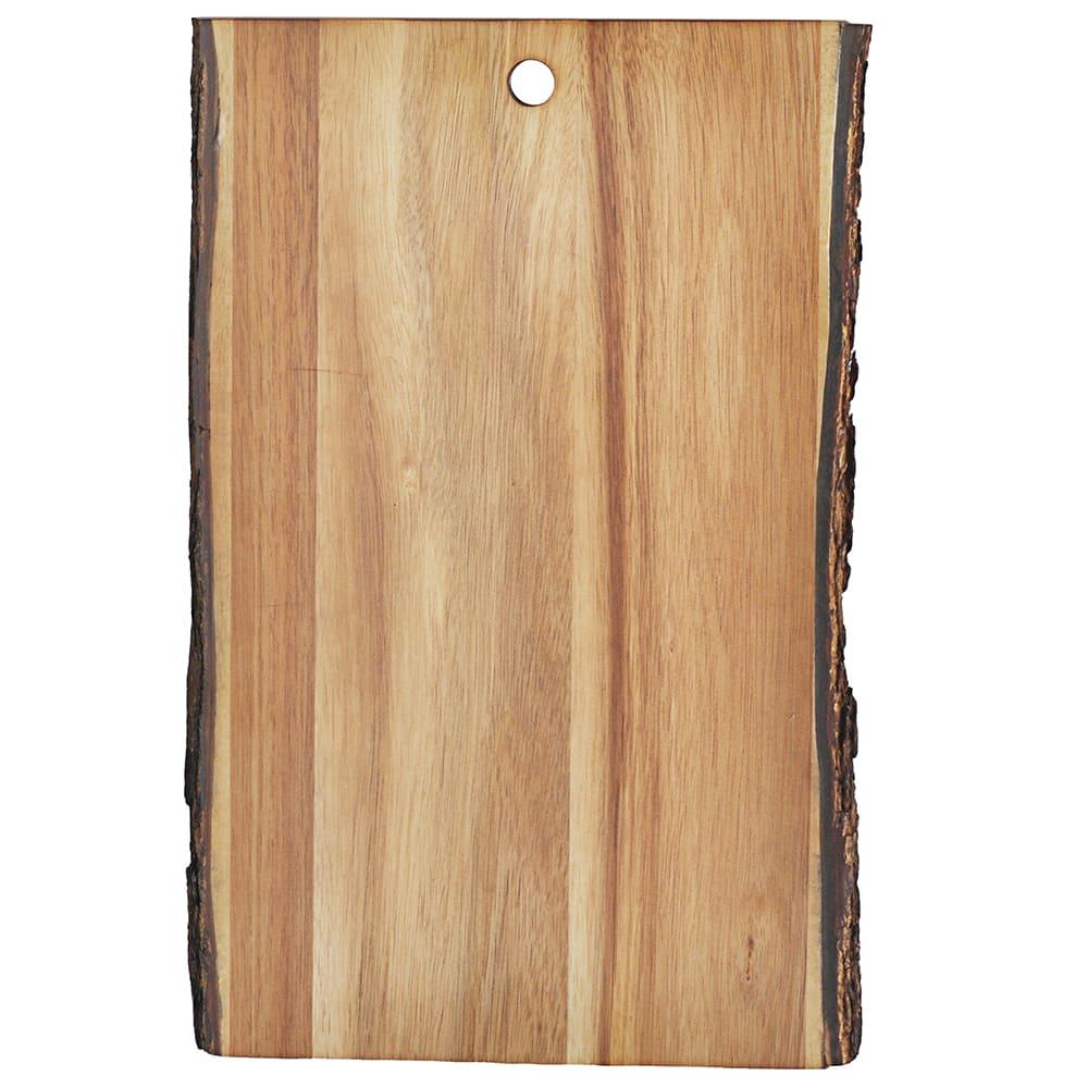 """Tablecraft ACAR1409 Display Board - 14"""" x 9"""", Bark-Lined Wood"""