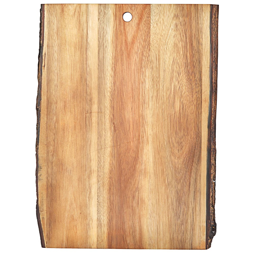 """Tablecraft ACAR1812 Display Board - 18"""" x 12"""", Bark-Lined Wood"""
