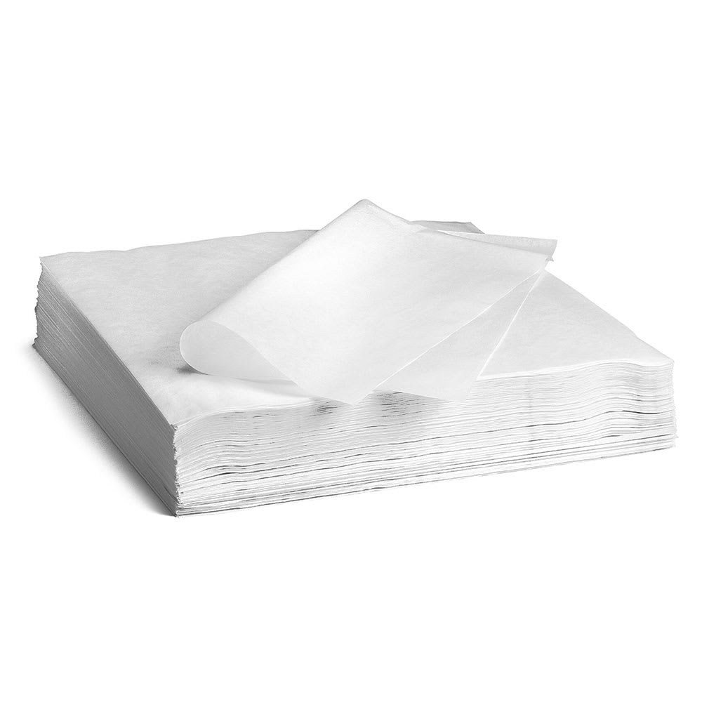 Tablecraft ACP12 White Cone Liners, 12 x 12 in, Fits All Cones