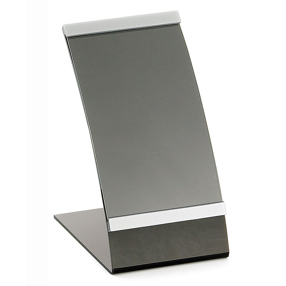 Tablecraft AS46 Acrylic Curved Menu Holder, 4 x 6""