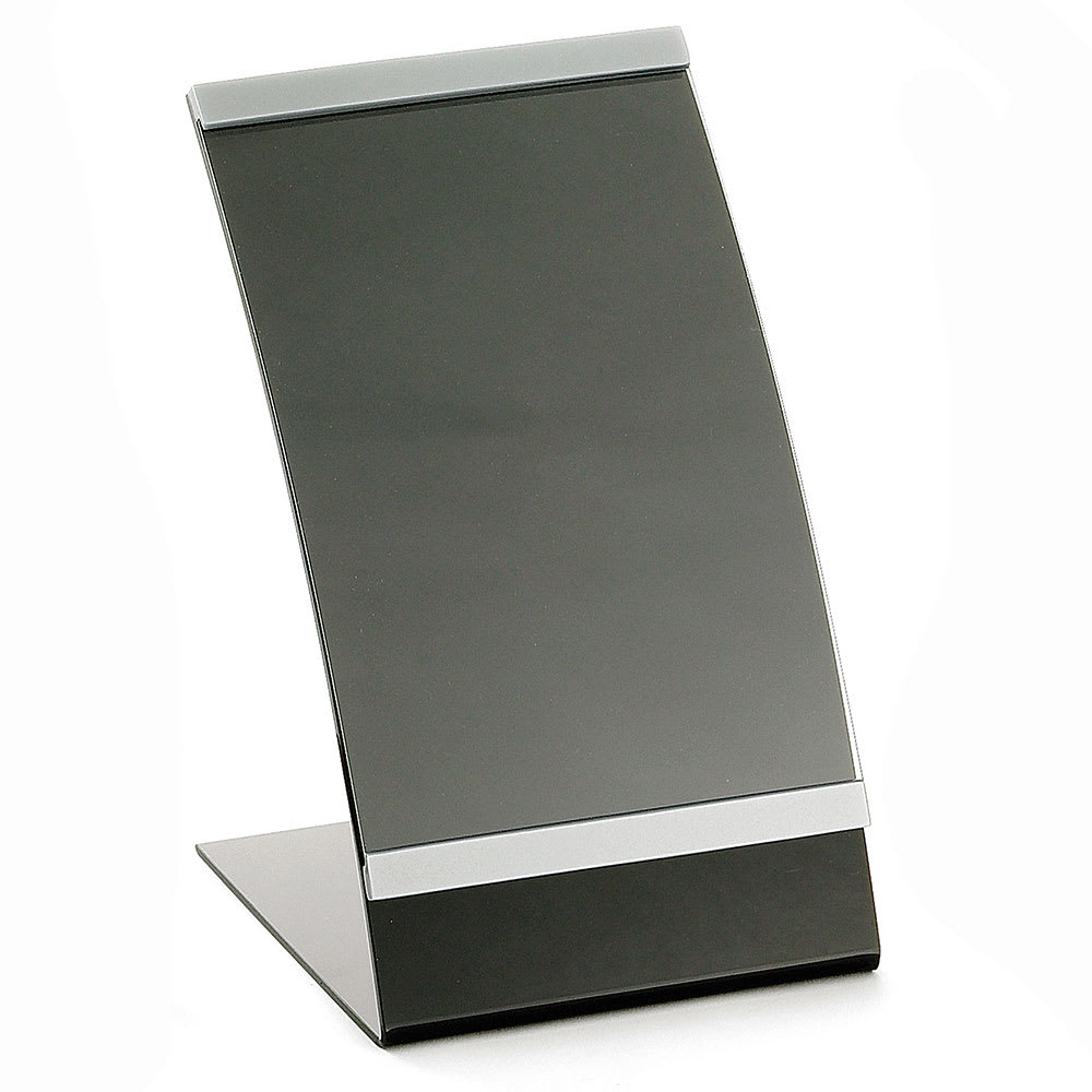 Tablecraft AS57 Acrylic Curved Menu Holder, 5 1/2 x 8 1/2""
