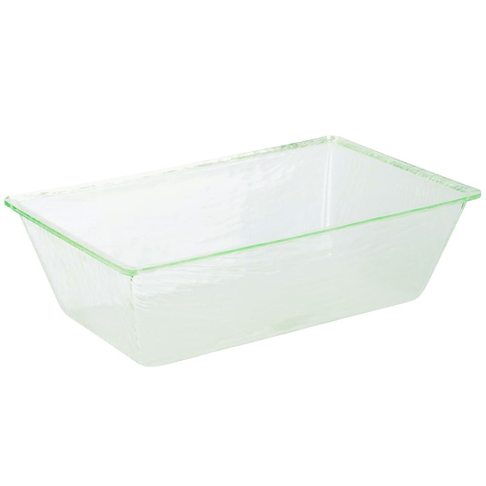 """Tablecraft AT2012 Rectangular Cristal Collection Beverage Tub, 20 L x 12 W  x 6""""H, Acrylic"""