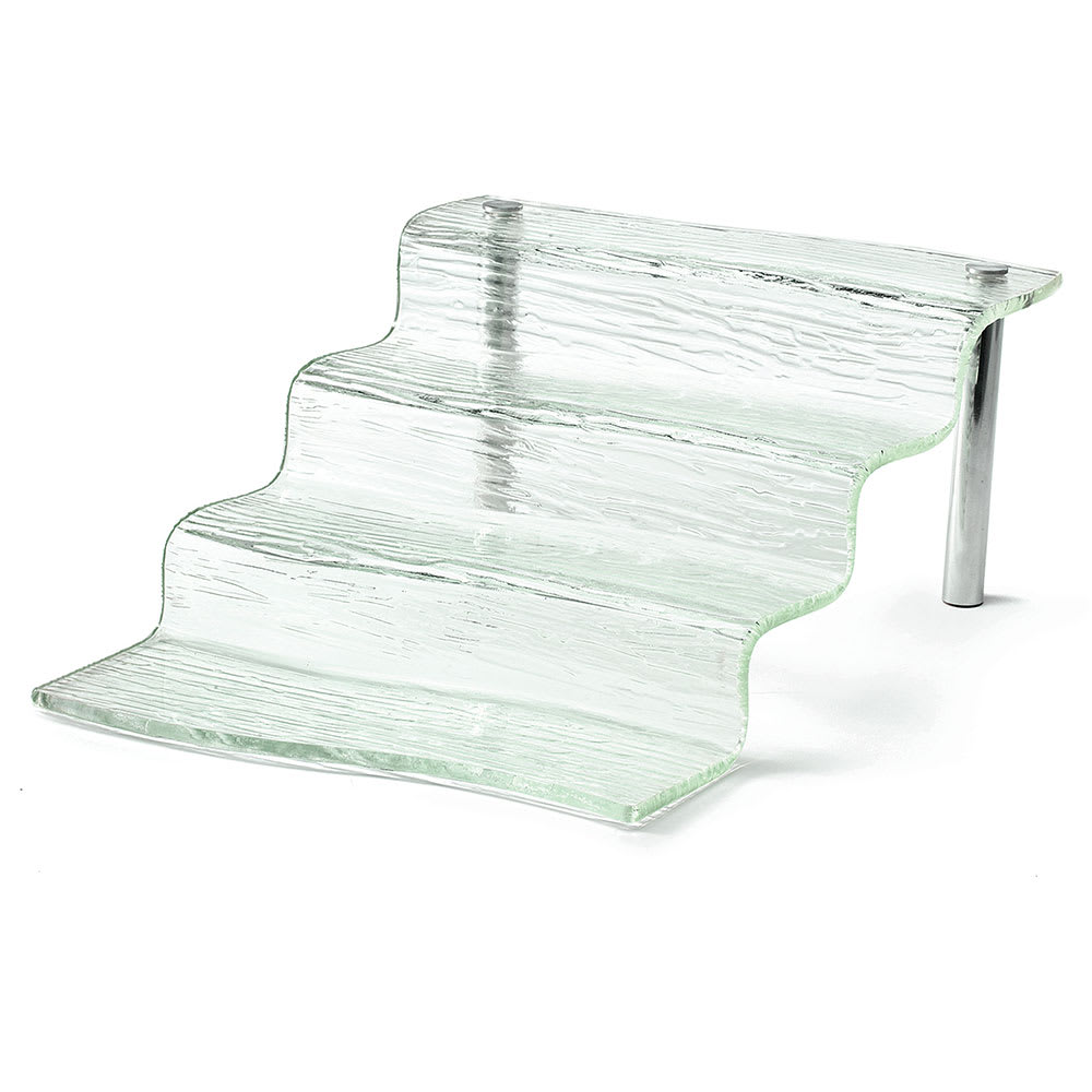 "Tablecraft AW4 Cristal Collection Four Step Waterfall, 12.25""Length, Acrylic"