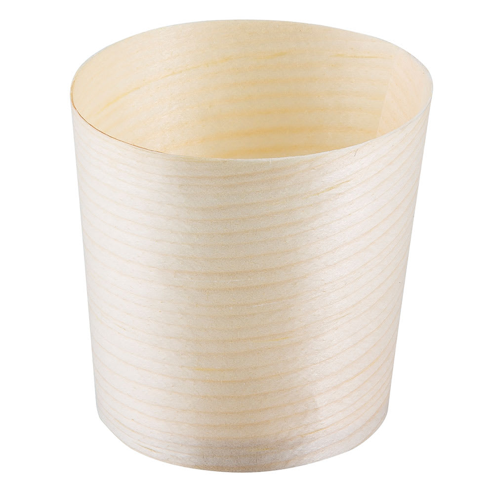 Tablecraft BAMDCP1 4 oz Disposable Serving Cup - Pinewood