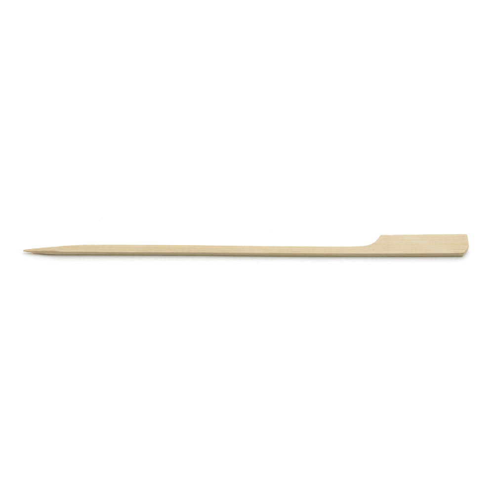 "Tablecraft BAMP7 7"" Bamboo Paddle Pick"