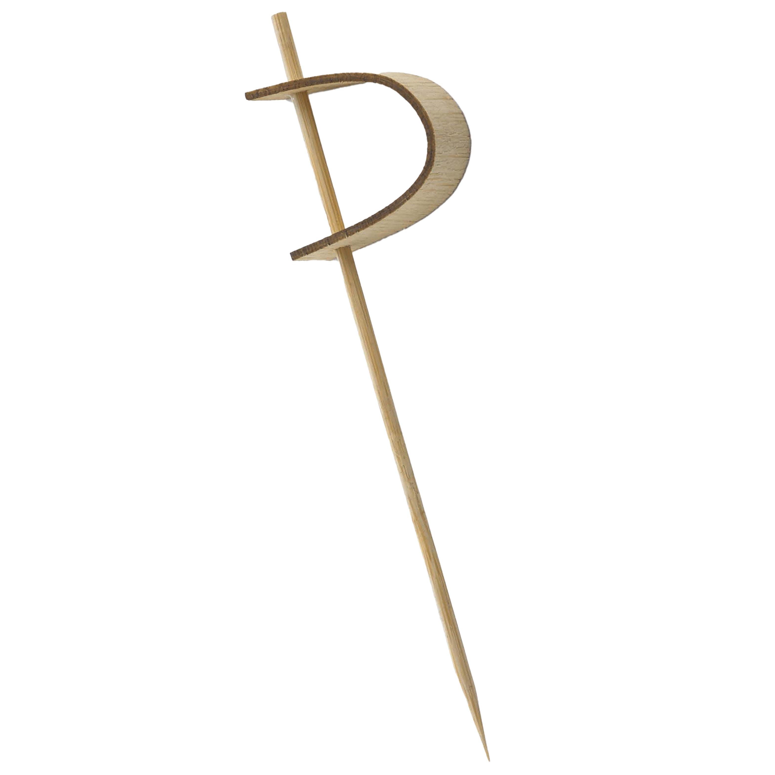 "Tablecraft BAMPS45 4.5"" Bamboo Sword Pick"