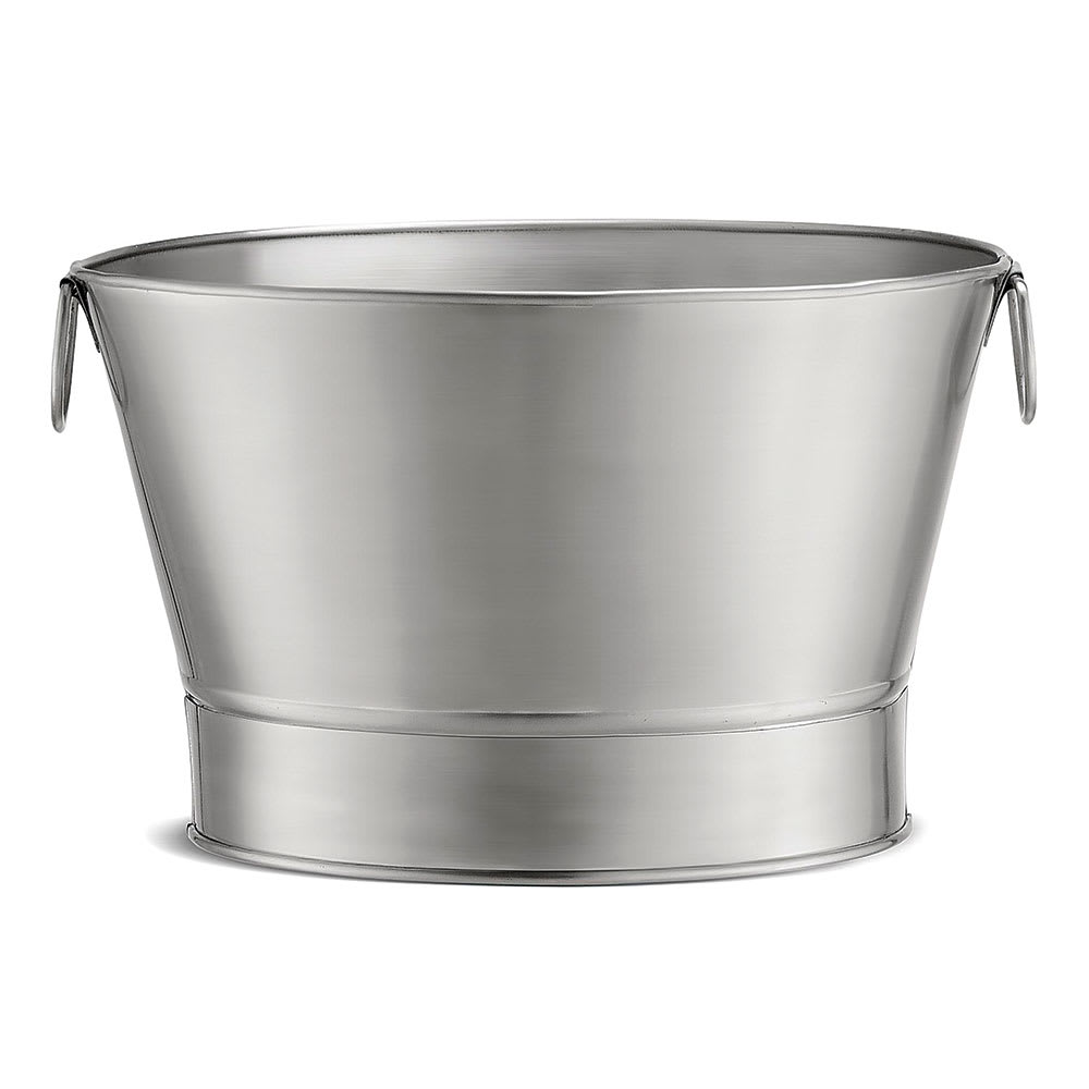 Tablecraft BT21 Stainless Steel Beverage Tub - 20x12-1/4""