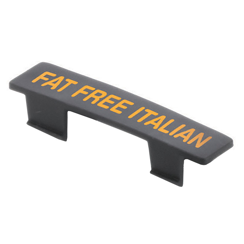 Tablecraft CN4816 Fat Free Italian Name Tag - (N48)