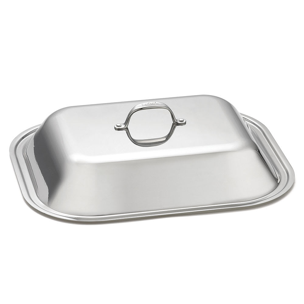 """Tablecraft CW2034L Cover for Roaster Pan, 17"""" x 14"""", Stainless"""