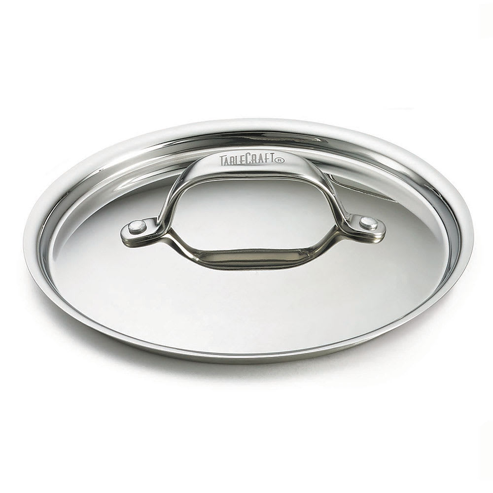 "Tablecraft CW2052L 5"" Cover for Mini Casserole Dish, Stainless"