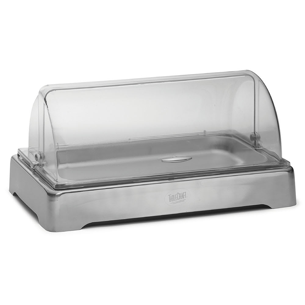 Tablecraft CW40169 Table Top Food Bar - (1) Full Size Pan Capacity, Stainless