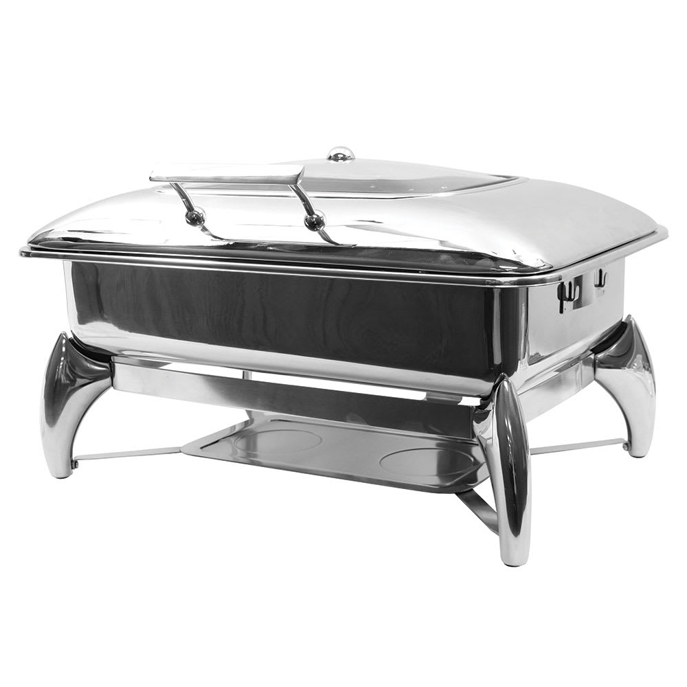 Tablecraft CW40175 Full Size Chafer w/ Hinged Lid & Chafing Fuel Heat