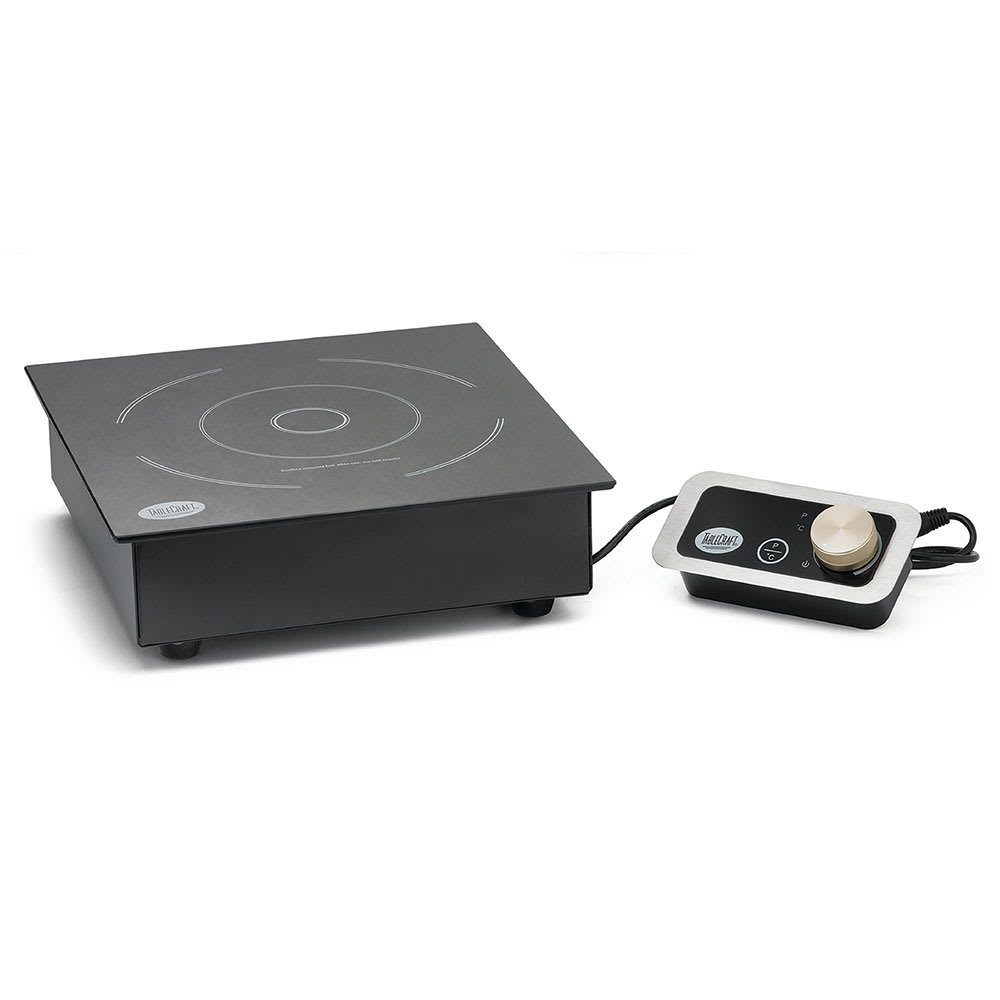 Tablecraft CW40196 Countertop Induction Cooktop w/ (1) Burner, 120v