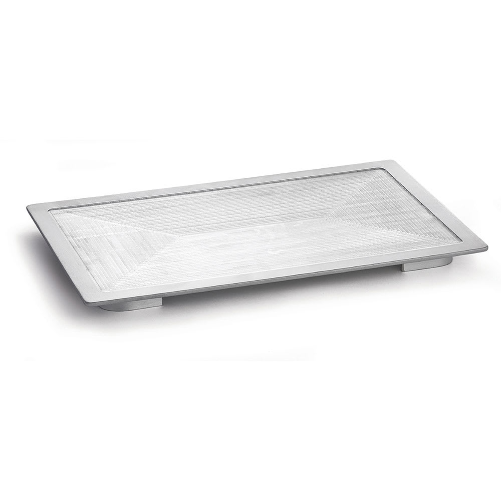 "Tablecraft CW6420 Full Size Hot Well Cover, 13.5"" x 21.625"", Aluminum"