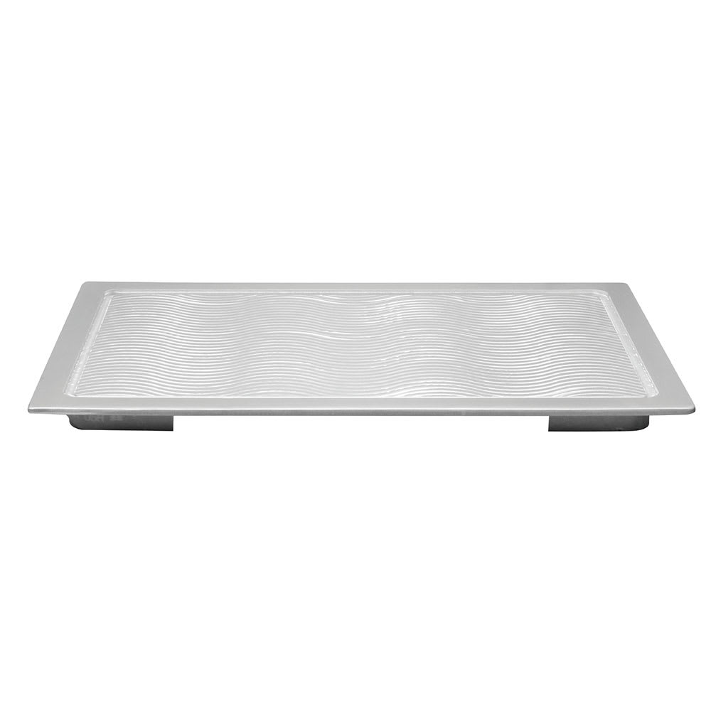 "Tablecraft CW6420WV Full Size Hot Well Cover, 13.5"" x 21.625"", Aluminum"