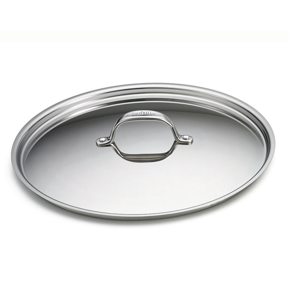 """Tablecraft CW7014L 12"""" Cover for 5-qt Wok, Stainless"""