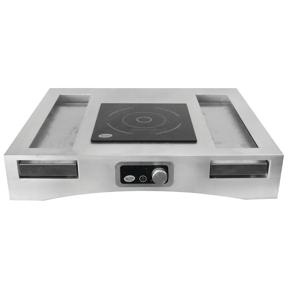 Tablecraft CWACTION1BRA Induction Countertop Station Kit w/ Drop-In Cooktop, 120v