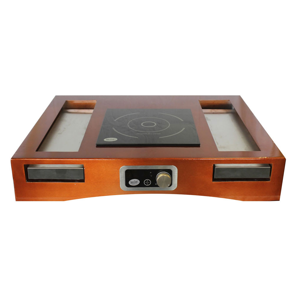 Tablecraft CWACTION1TCP Induction Countertop Station Kit w/ Drop-In Electric Induction Cooktop, 120v