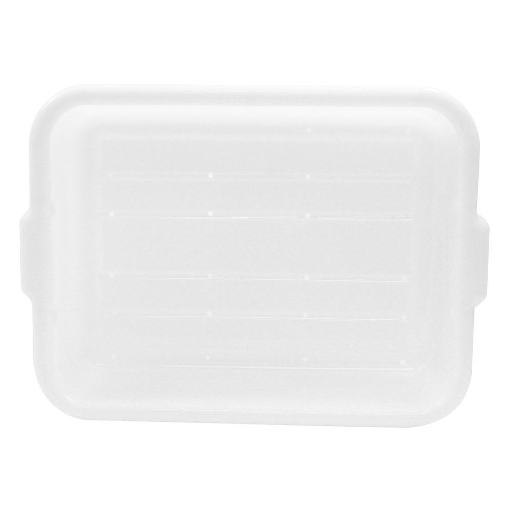 """Tablecraft DBF1537 White Polyethylene Freezer Drain Box, 21.25 x 15.75 x 7"""""""