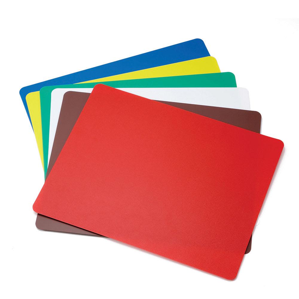 "Tablecraft FCB1824A Polyethylene Flexible Cutting Mat, 18 x 24"", Assorted Colors"