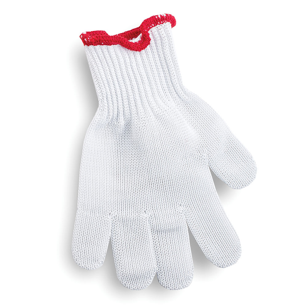 Tablecraft GLOVE1 The ProTector Cut Resistant Glove, X-Small, Red Cuff