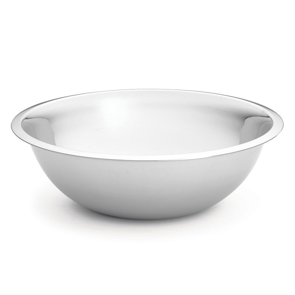 Tablecraft H827 Mixing Bowl w/ Approx. 8 qt Capacity, .8 mm Stainless