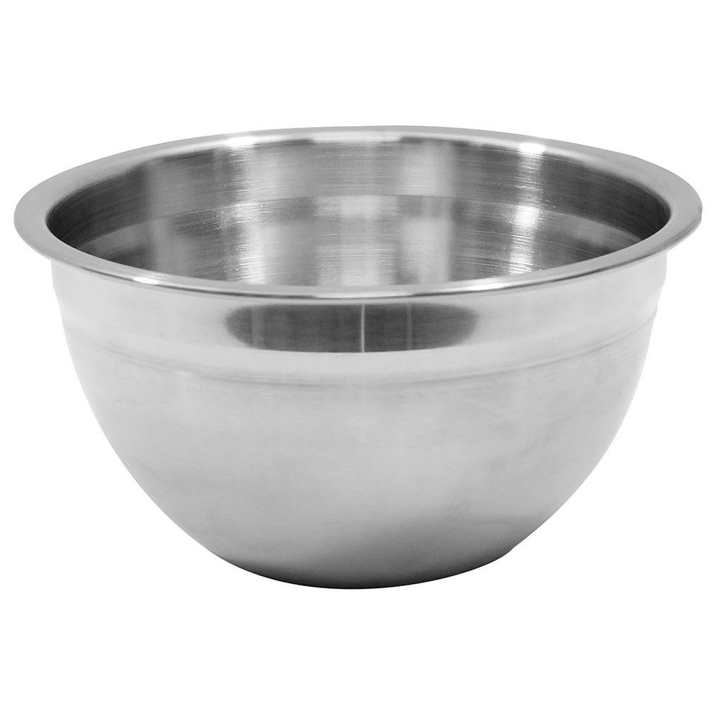 Tablecraft H832 3 Quart Stainless Steel Premium Mixing Bowl