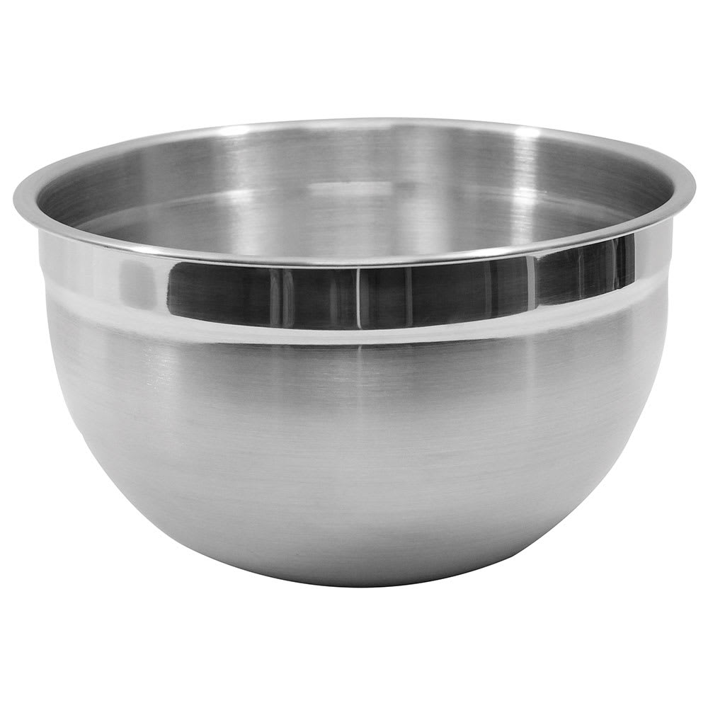 Tablecraft H834 8-Quart Stainless Steel Premium Mixing Bowl