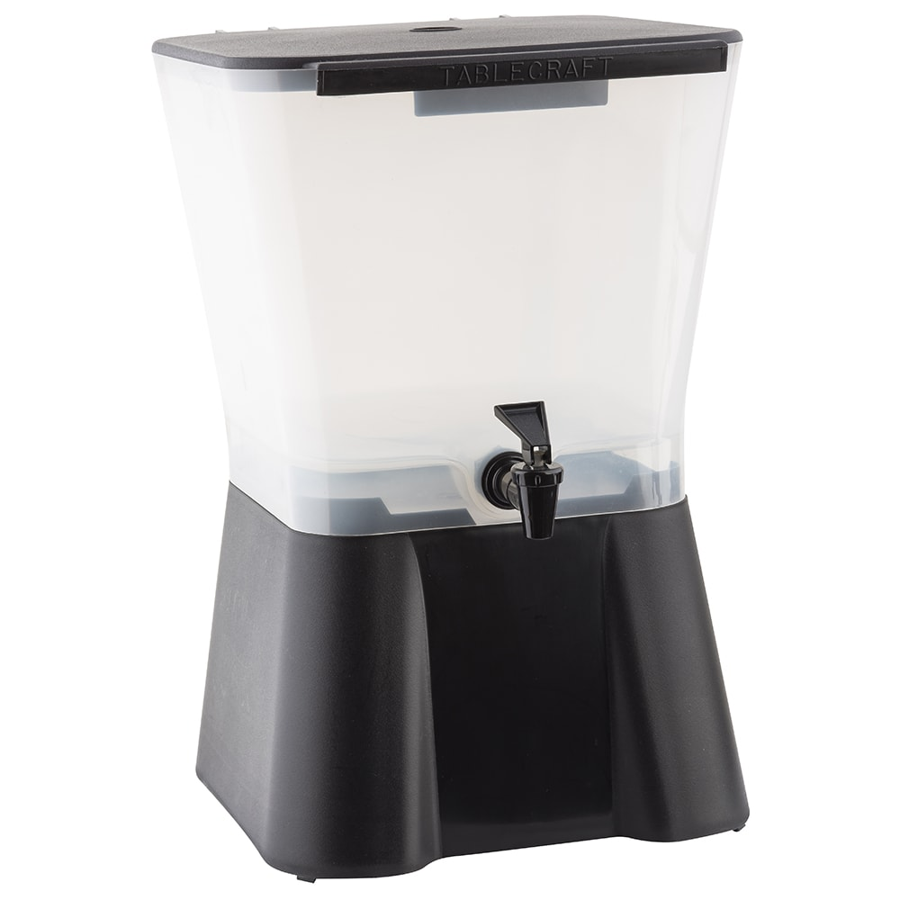 Tablecraft H953 Beverage Dispenser, 3 Gallon, Black, NSF