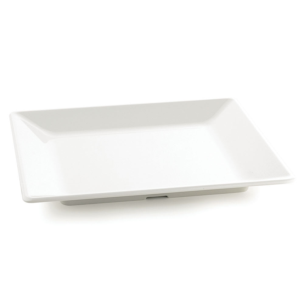 "Tablecraft M1919 Frostone Collection Tray, Square, 18.75 x 18.75"", Melamine, White"