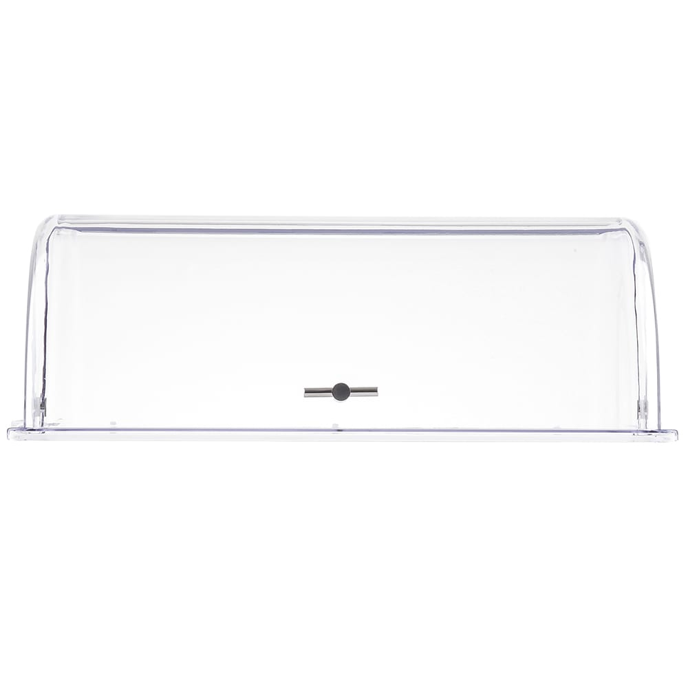 "Tablecraft PC1 Rectangular Dome Cover, 21.5 L x 13.25 W x 7.5""H, Polycarbonate"