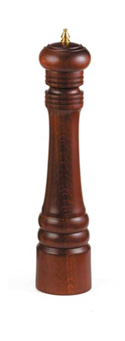 "Tablecraft PM2112 12"" Walnut Wood Finish Pepper Mill"