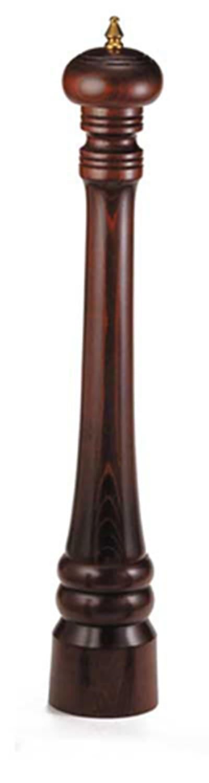"""Tablecraft PM2118 18"""" Walnut Wood Finish Pepper Mill"""