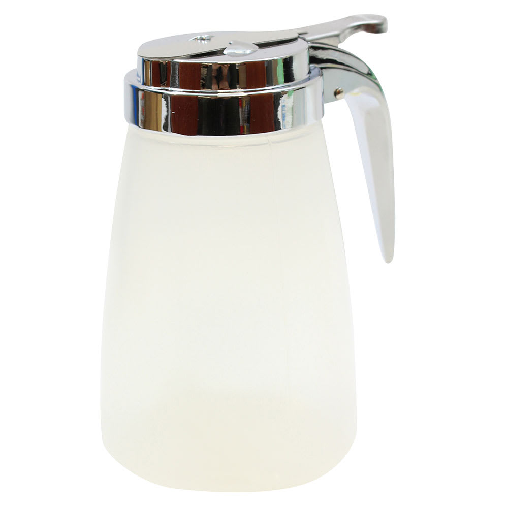 Tablecraft PP10CP 10-oz Syrup Dispenser - Polypropylene, Chrome-Plated