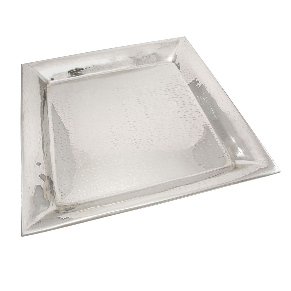 Tablecraft R1616 Remington Collection Tray, 16 in, Square, Stainless Steel
