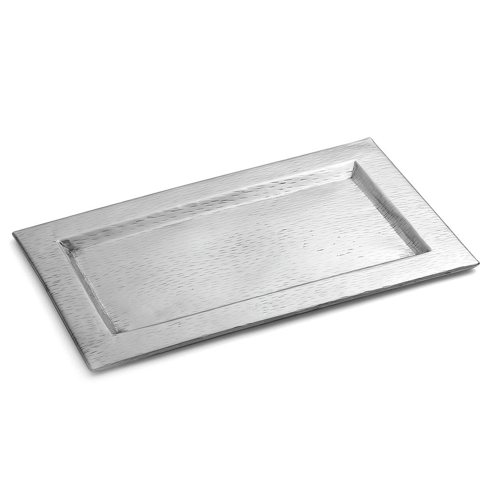 Tablecraft R169 Remington Collection Tray, 15 1/2 x 9 1/4 in, Rectangular, Stainless Steel