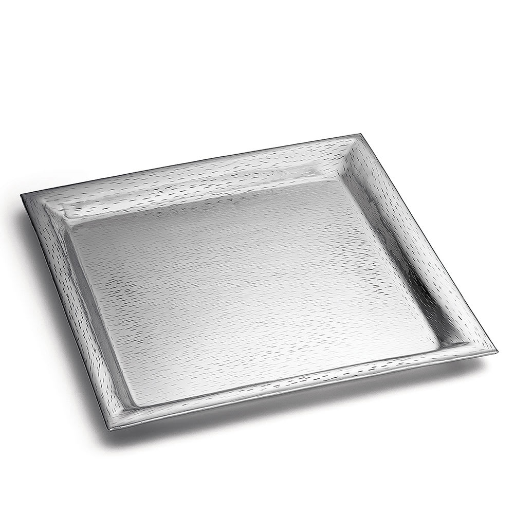 Tablecraft R2222 Remington Collection Tray, 22 in, Square, Stainless Steel