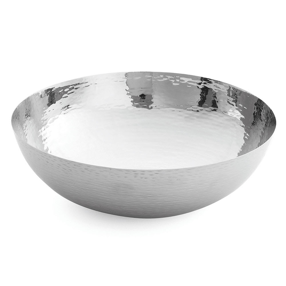 Tablecraft RB14 Remington Collection Bowl, 14 x 5 in, Round, Stainless Steel
