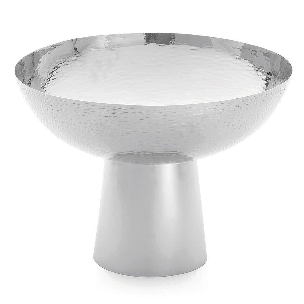 Tablecraft RP1410 Remington Collection Pedestal Bowl, 14 x 10-1/4 in, Round, Stainless Steel