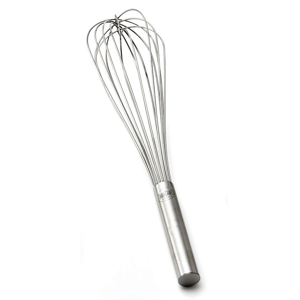"Tablecraft SF24 24"" Stainless Steel French Whip w/ Sealed Wired"