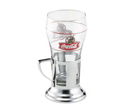 Tablecraft SGHH1844 Soda Glass Holder, Fits Glass Size Up To 2-1/4-in