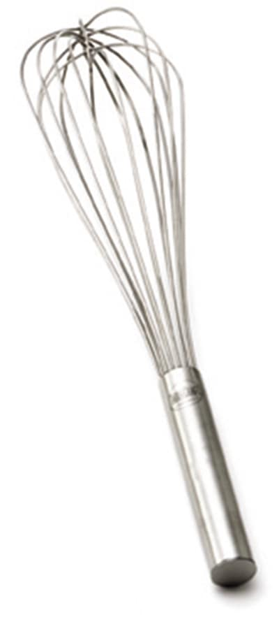 Tablecraft SP14 14-in Stainless Steel Piano Whip w/ Sealed Wires