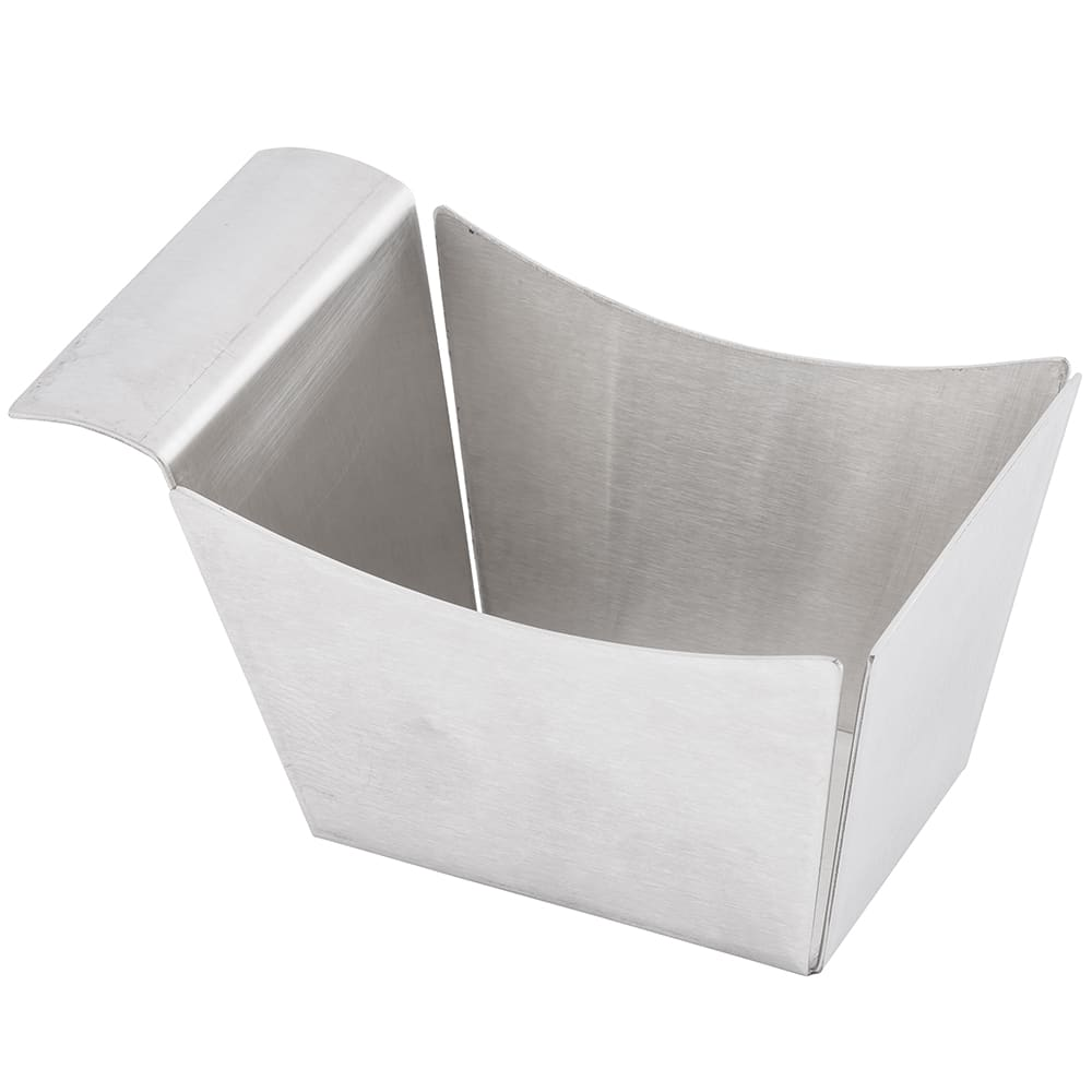 "Tablecraft SSB Rectangular Serving Basket, 5.5"" x 3.25"" x 3"", Stainless"
