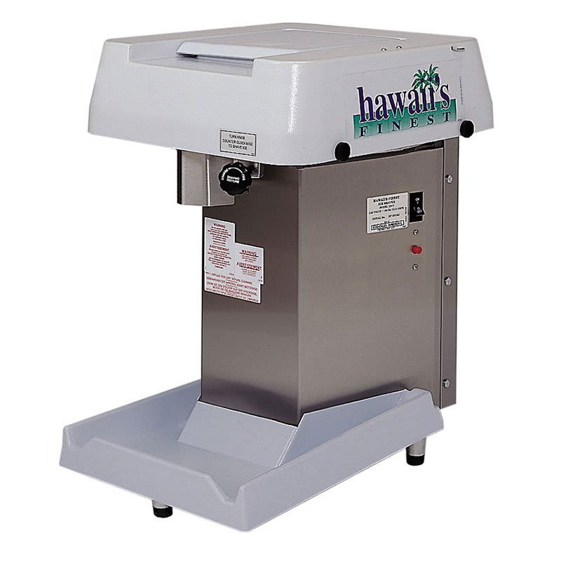 Gold Medal 1047 Hawaiis Finest Shave Ice Machine w/ 8-lb Hopper & Kill Switch, 3/4-hp